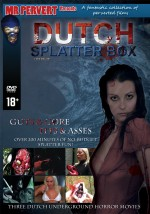 Jaquette Dutch Splatterbox (3 DVD) EPUISE/OUT OF PRINT