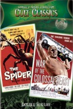 Jaquette Earth Vs the Spider / War of Colossal Beast