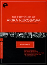 Jaquette Eclipse Series 23 : The First Films of Akira Kurosawa