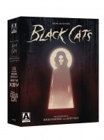 Jaquette Edgar Allan Poe's Black Cats: Two Adaptations By Sergio Martino & Lucio Fulci (4-Disc Limited Special Edition)