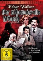 Jaquette Edgar Wallace: Der geheimnisvolle Mönch