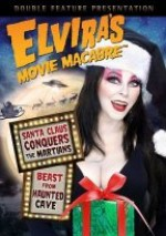 Jaquette Elvira's Movie Macabre: Santa Claus Conquers the Martians/Beast From Haunted Cave