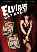 Jaquette Elvira's Movie Macabre - The Satanic Rites Of Dracula / The Werewolf Of Washington
