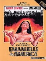 Jaquette Emanuelle In America Deluxe Edition 2 Dvd EPUISE/OUT OF PRINT