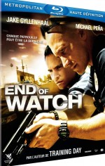 Jaquette End of Watch
