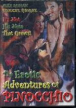 Jaquette Erotic Adventures of Pinocchio