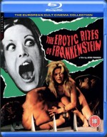 Jaquette Erotic Rites of Frankenstein