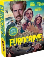 Jaquette Eurocrime box : Stadt in Panik + Gewalt über der Stadt + Convoy Busters EPUISE/OUT OF PRINT