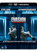 Jaquette �vasion (Combo Blu-ray + DVD + Copie digitale - �dition bo�tier SteelBook)