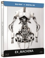Jaquette Ex Machina (Blu-ray + Copie digitale - �dition bo�tier SteelBook)