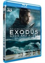 Jaquette Exodus : Gods and Kings (Combo Blu-ray 3D + Blu-ray 2D + Digital HD)