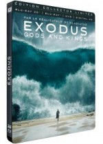 Jaquette Exodus : Gods and Kings (Combo Blu-ray 3D + Blu-ray 2D + Digital HD) (Édition Collector Limitée boîtier SteelBook)