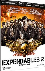 Jaquette Expendables 2 - Unit� sp�ciale (Combo Blu-ray + DVD)