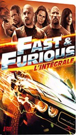 Jaquette Fast and Furious - L'intégrale 5 films