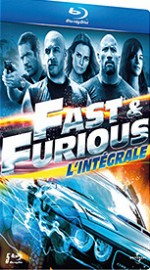 Jaquette Fast and Furious - L'int�grale 5 films