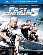 Jaquette Fast & Furious 5 (Blu-ray + DVD + Copie digitale)