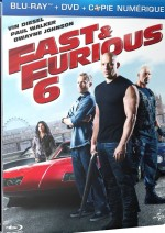 Jaquette Fast & Furious 6 (Combo Blu-ray + DVD + Copie digitale)