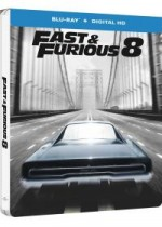 Jaquette Fast & Furious 8 (Combo Blu-ray + DVD + Copie digitale - Édition boîtier SteelBook)