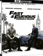 Jaquette Fast & Furious : Hobbs & Shaw - 4K Ultra HD + Blu-ray  - Édition SteelBook