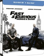 Jaquette Fast & Furious : Hobbs & Shaw - Combo Blu-ray 3D + Blu-ray - Édition SteelBook