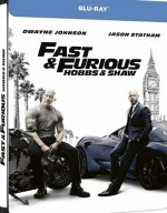 Jaquette Fast & Furious : Hobbs & Shaw - Édition SteelBook