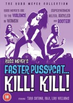 Jaquette Faster Pussycat Kill.... Kill EPUISE/OUT OF PRINT