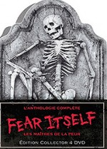 Jaquette Fear Itself : Les ma�tres de la peur - L'anthologie compl�te (�dition Collector)