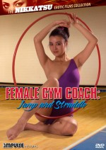 Jaquette Female Gym Coach: Jump and Straddle