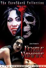 Jaquette FEMALE VAMPIRE EPUISE/OUT OF PRINT