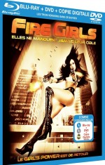 Jaquette Fire Girls (Blu-ray + DVD + Copie digitale)