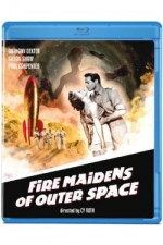 Jaquette Fire Maidens of Outer Space
