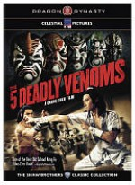 Jaquette Five Deadly Venoms