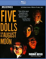 Jaquette Five Dolls for an August Moon