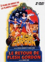 Jaquette Flesh Gordon & Le retour de Flesh Gordon