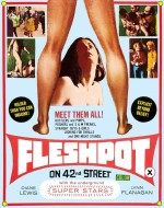 Jaquette Fleshpot on 42nd Street (Blu-ray + DVD) EPUISE/OUT OF PRINT
