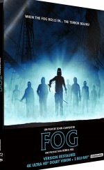 Jaquette Fog  [4K Ultra HD + Blu-ray + Blu-ray bonus - Édition boîtier SteelBook]  EPUISE/OUT OF PRINT