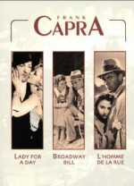 Jaquette Frank Capra - Lady for a Day + Broadway Bill + L'homme de la rue