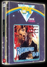 Jaquette Frankenstein 80 (Blu-Ray+DVD) - Cover A