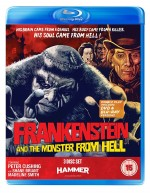 Jaquette Frankenstein And The Monster From Hell( 2 DVD + 1 Blu-Ray)