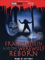 Jaquette Frankenstein And The Werewolf Reborn