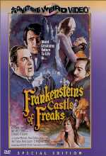 Jaquette Frankenstein's Castle of Freaks