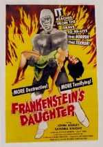 Jaquette Frankenstein's Daughter