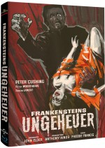 Jaquette Frankensteins Ungeheuer (Mediabook Cover A)