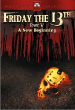 Jaquette FRIDAY THE 13TH 5 A NEW BEGINNING
