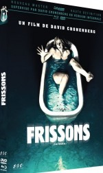 Jaquette Frissons (COMBO DVD + BLU-RAY + LIVRET (16 PAGES)