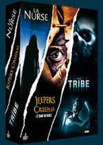 Jaquette Frissons : La nurse + Jeepers Creepers - Le chant du diable + The Tribe - L'île de la terreur (Pack) EPUISE/OUT OF PRINT