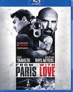 Jaquette From Paris with Love (�dition Blu-ray + DVD)