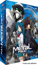 Jaquette Full Metal Panic! The Second Raid - Int�grale + OAV TSR (�dition Collector)
