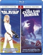 Jaquette Galaxina/The Crater Lake Monster
