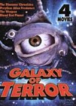 Jaquette Galaxy of Terror